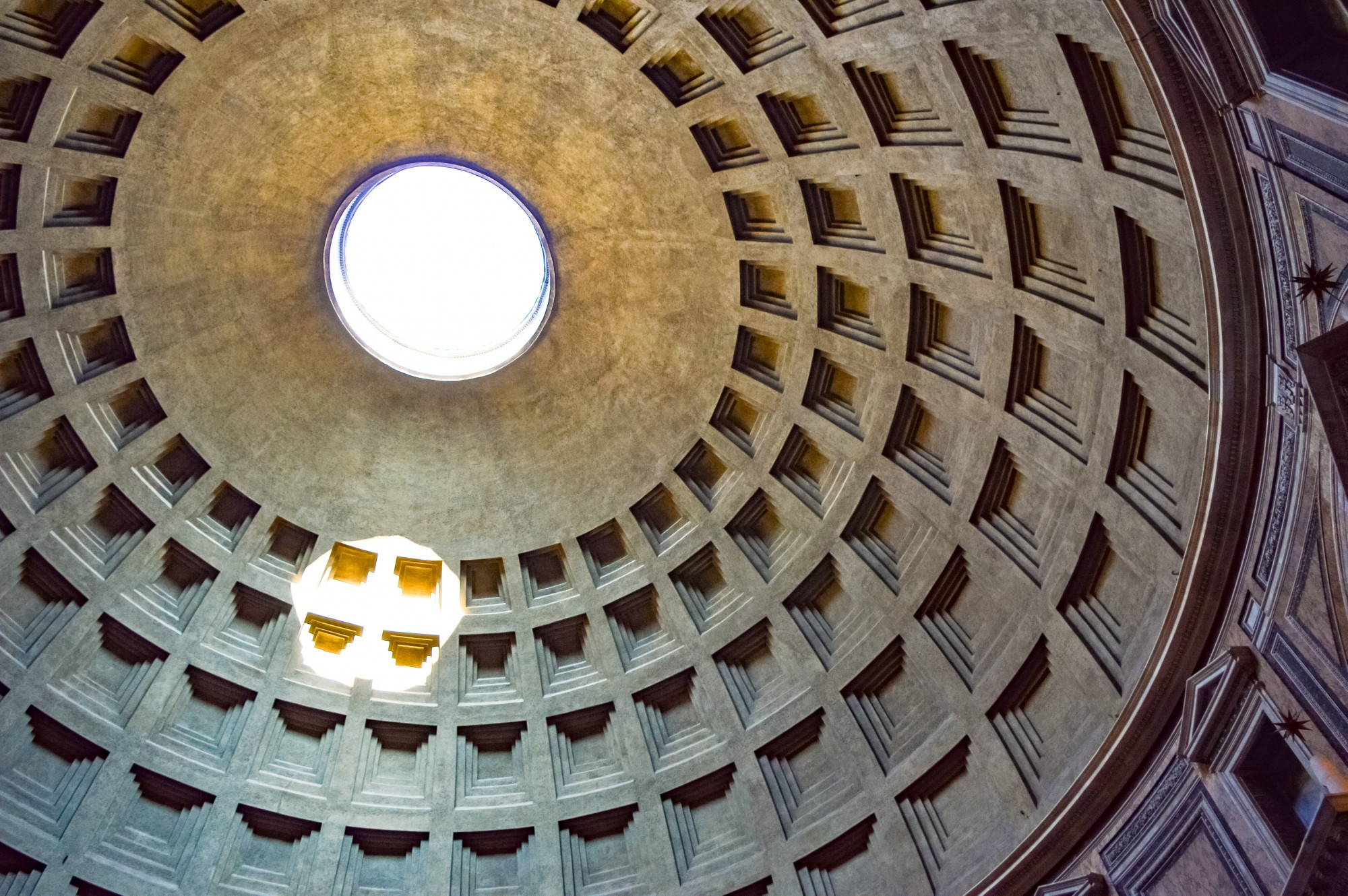 The Oculus at the Pantheon, Rome