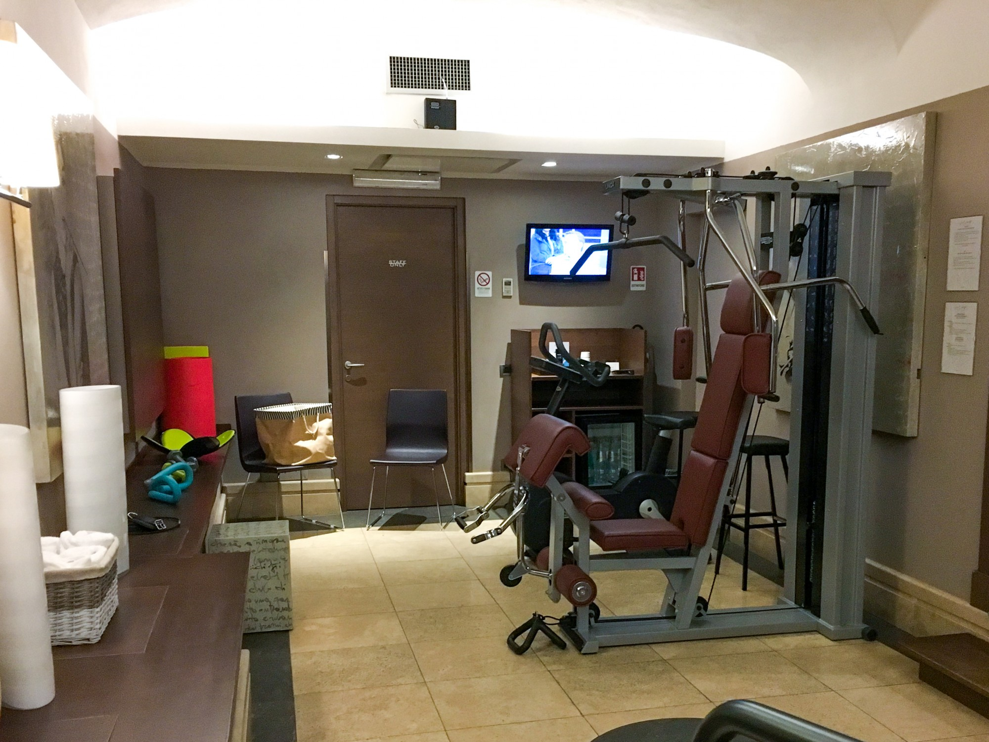 The Independent Hotel gym