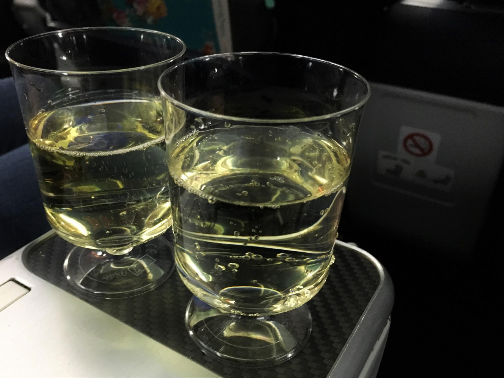 TUI Premium Prosecco on the Dreamliner
