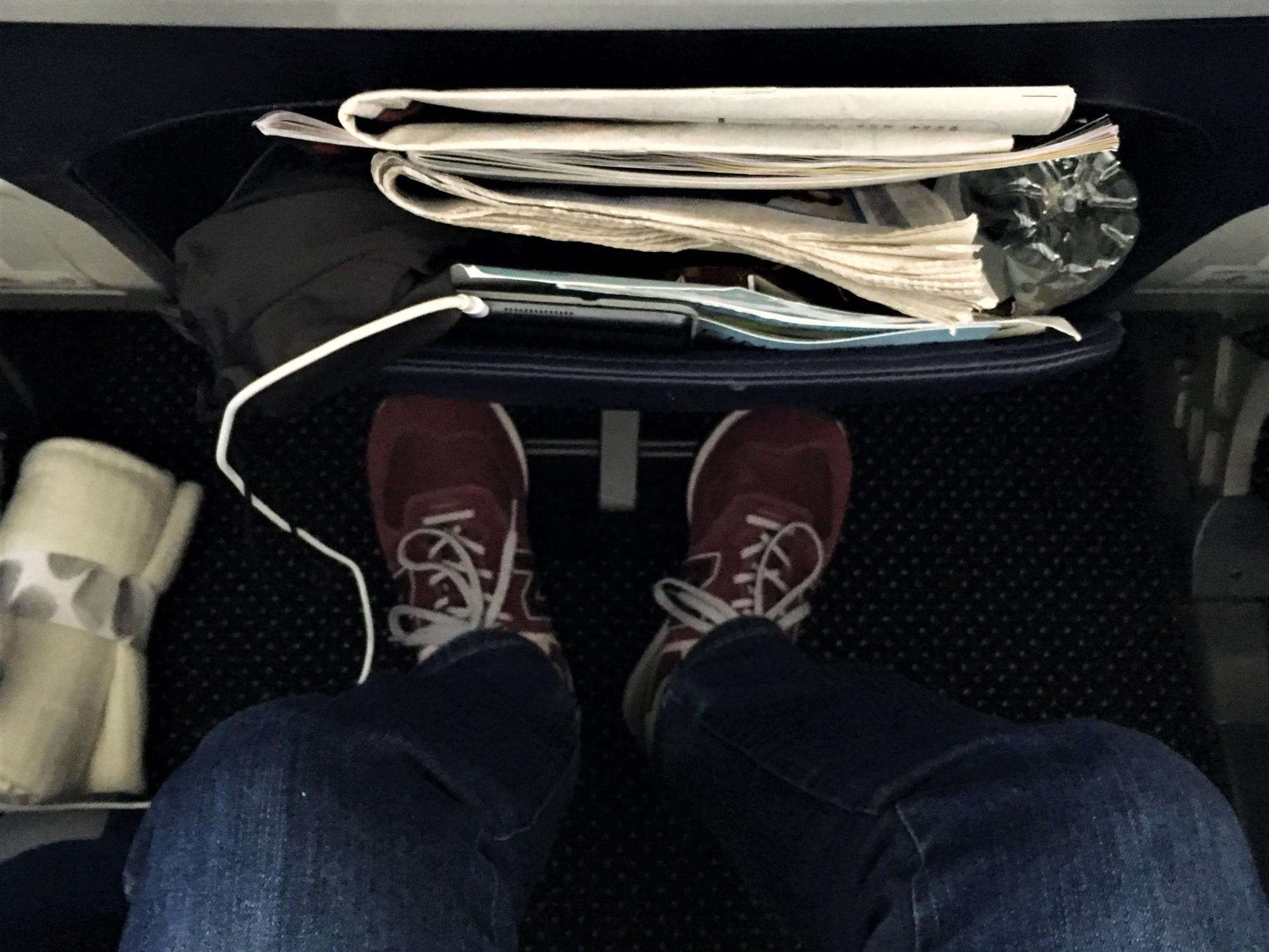 TUI Dreamliner Premium Seating Leg Room
