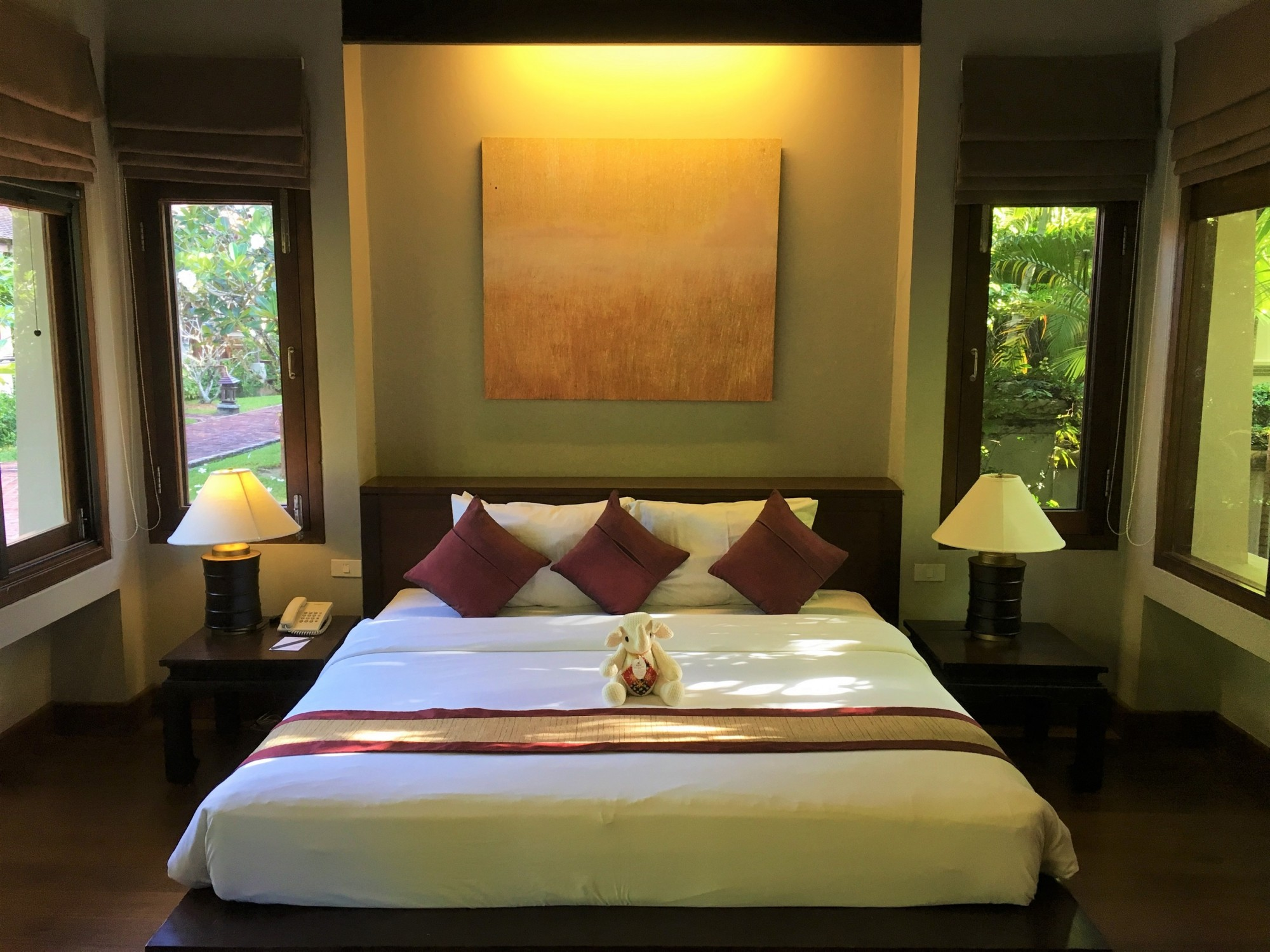 Bungalow at the Bhandari Resort & Spa In Khao Lak, Thailand