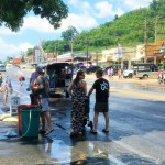 Welcoming In The Thai New Year With Water Fights At The Songkran Festival