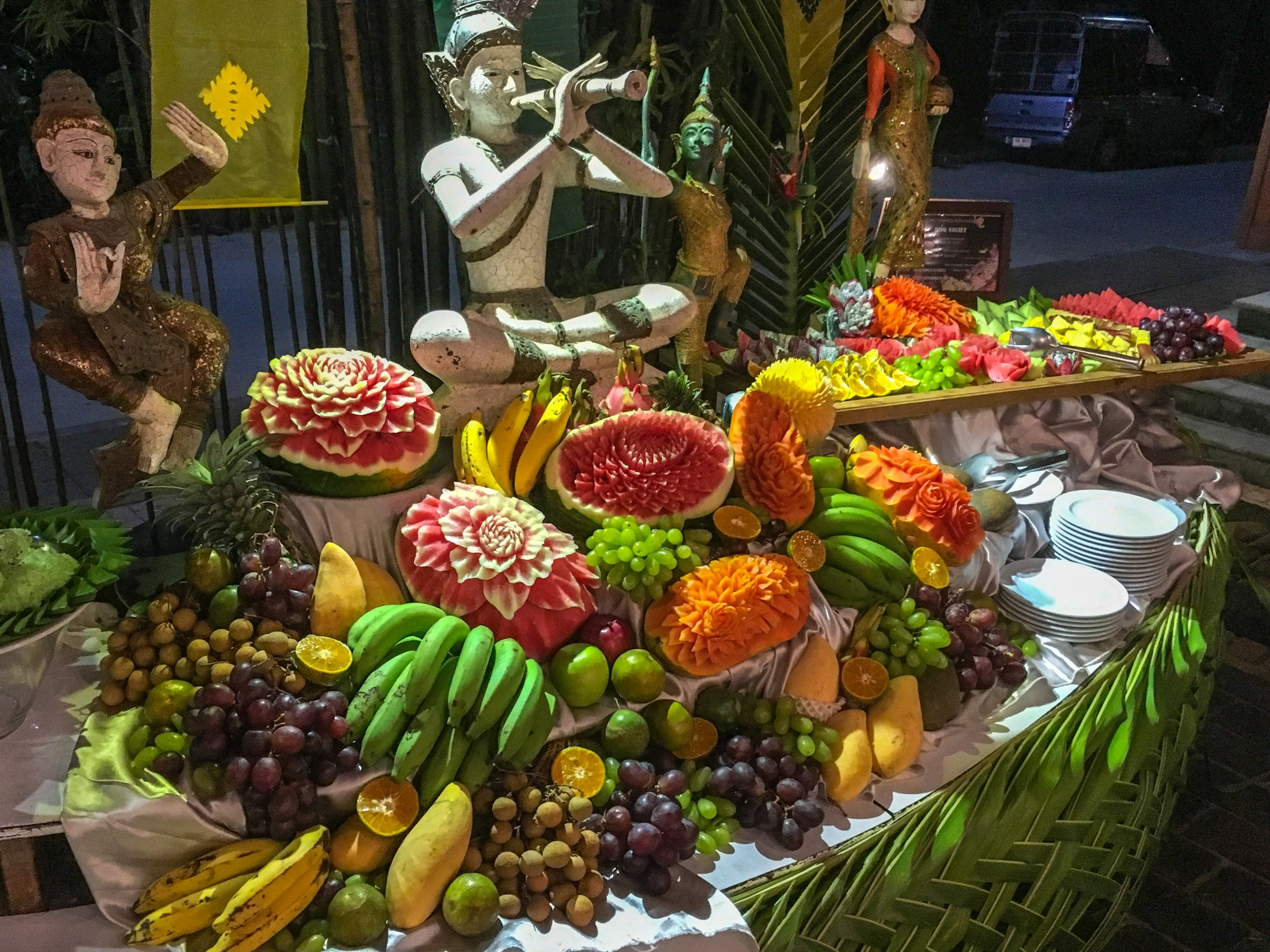 Bhandari Resort & Spa Thai Buffet Fruit, Khao Lak