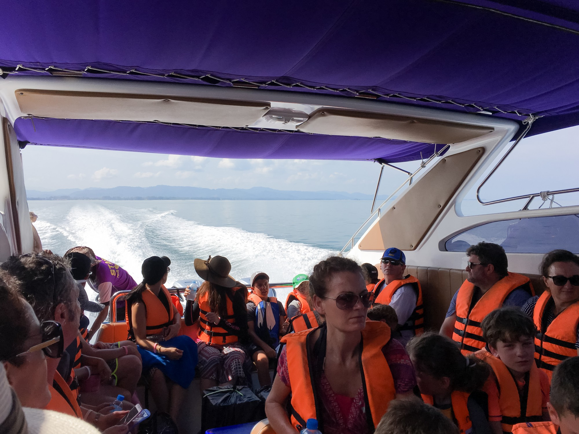 Surin Islands speed boat with SeaStar