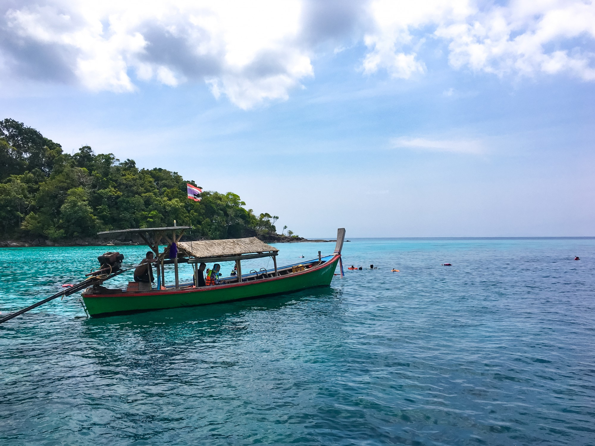 Snorkelling at Chong Kad Channel, Surin Islands