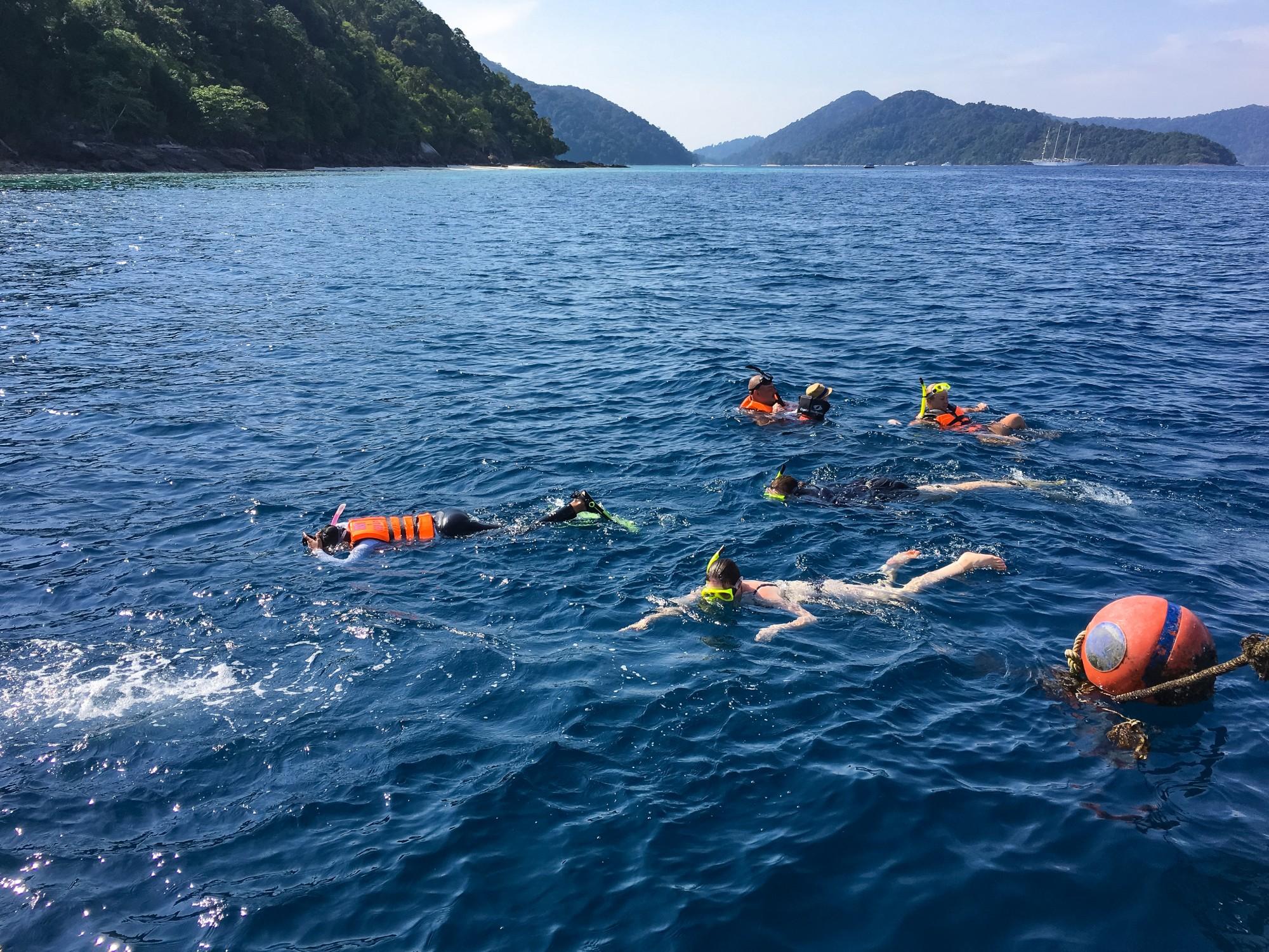 Snorkelling at Bon Bay