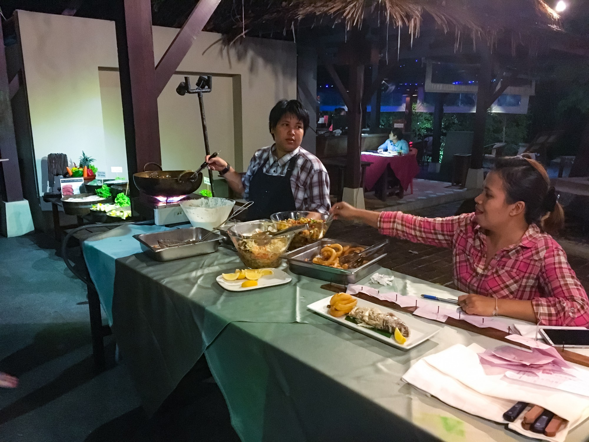 Bhandari Resort & Spa BBQ Night, Khao Lak