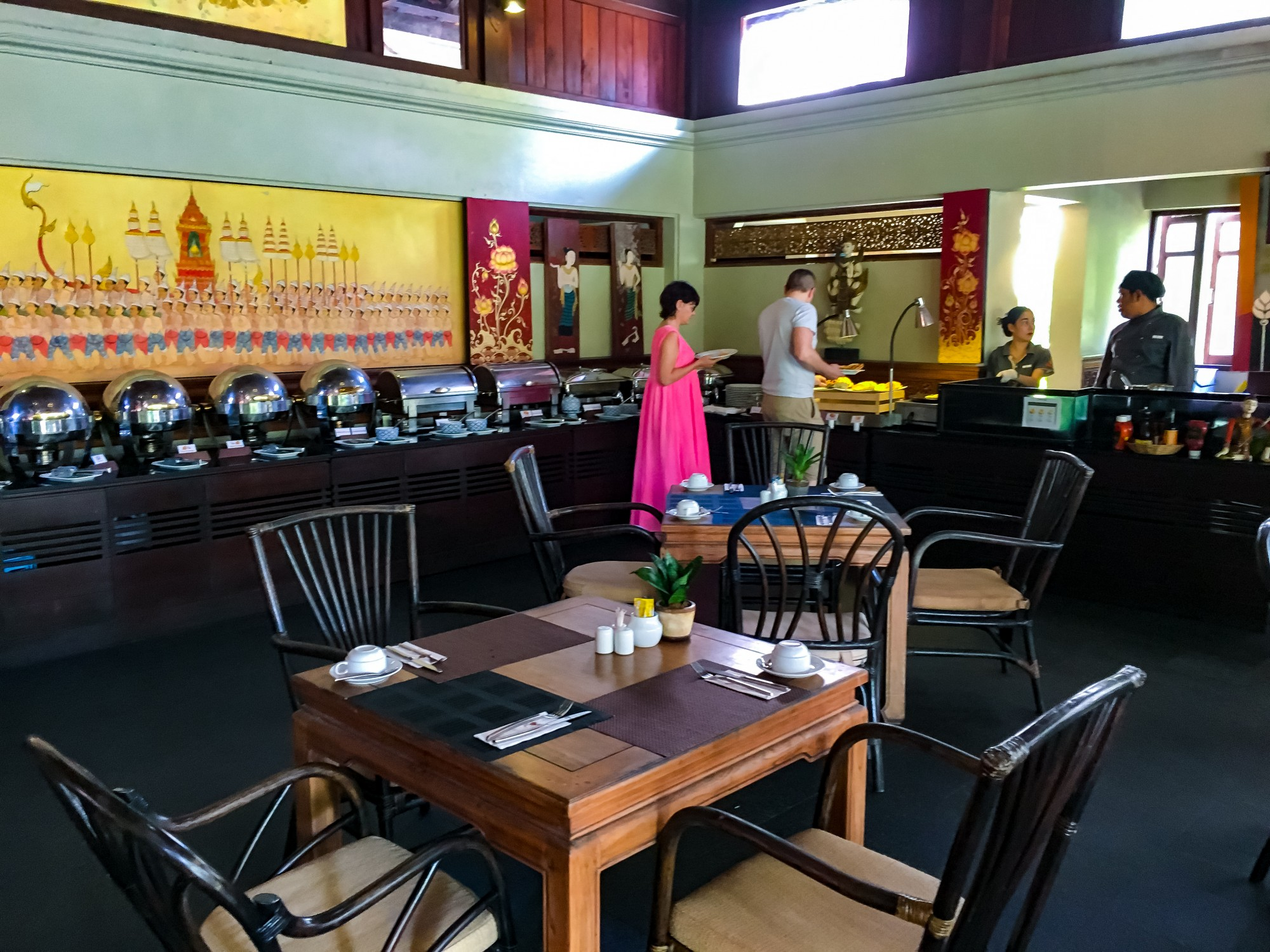 Bhandari Resort & Spa Breakfast Buffet, Khao Lak