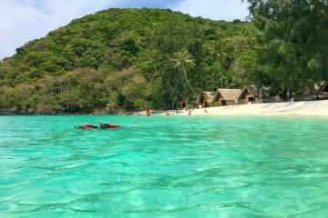 Snorkelling at Coral Island, Phuket, Thailand