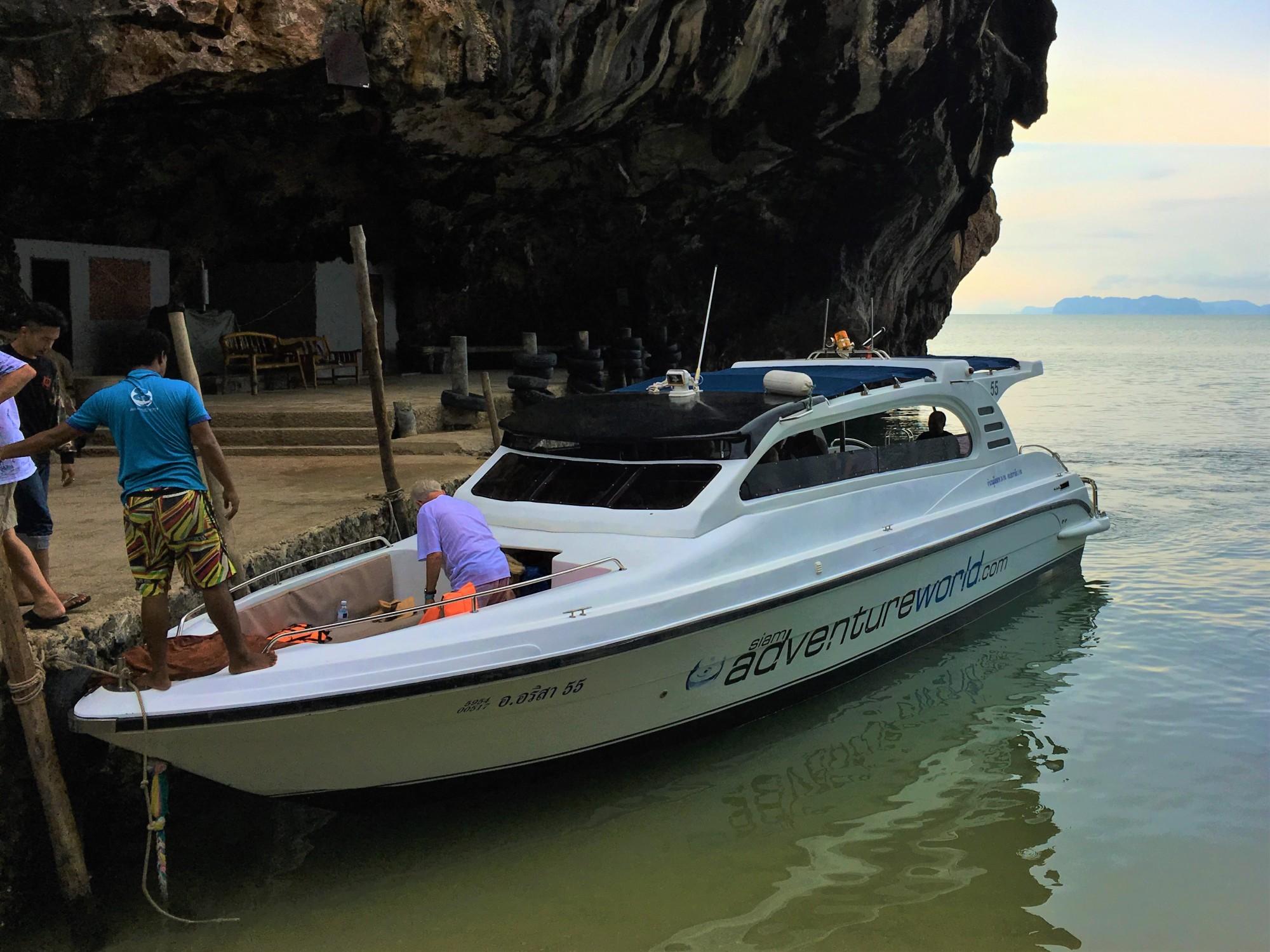 "Siam Adventure World – ""James Bond and Beyond"" excursion"
