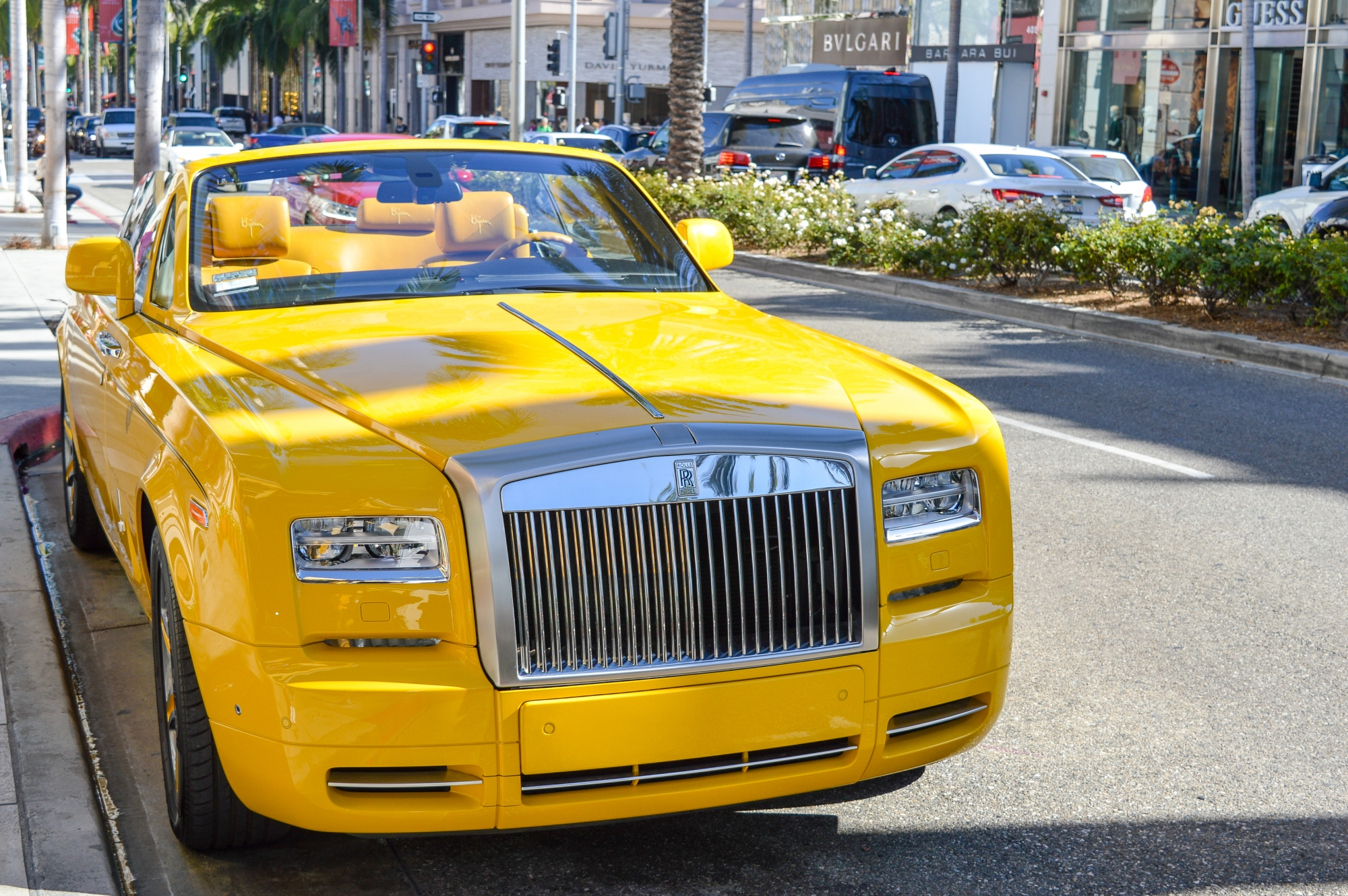 Rolls Royce on Rodeo Drive
