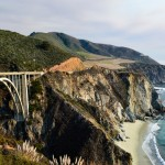 Incredible Coastal Views At The Bixby Creek Bridge, Big Sur