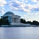 Visiting the Thomas Jefferson Memorial in Washington DC