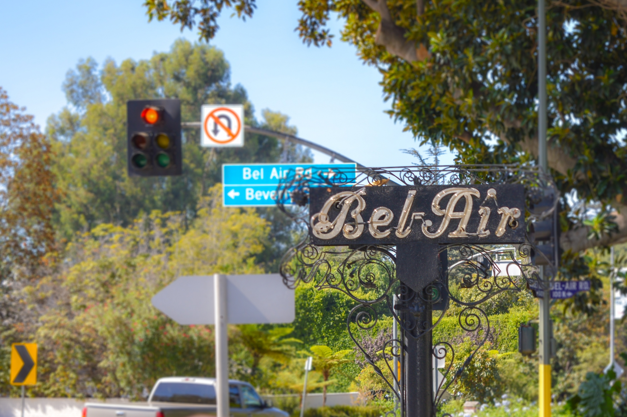 Bel Air Sign, Los Angeles