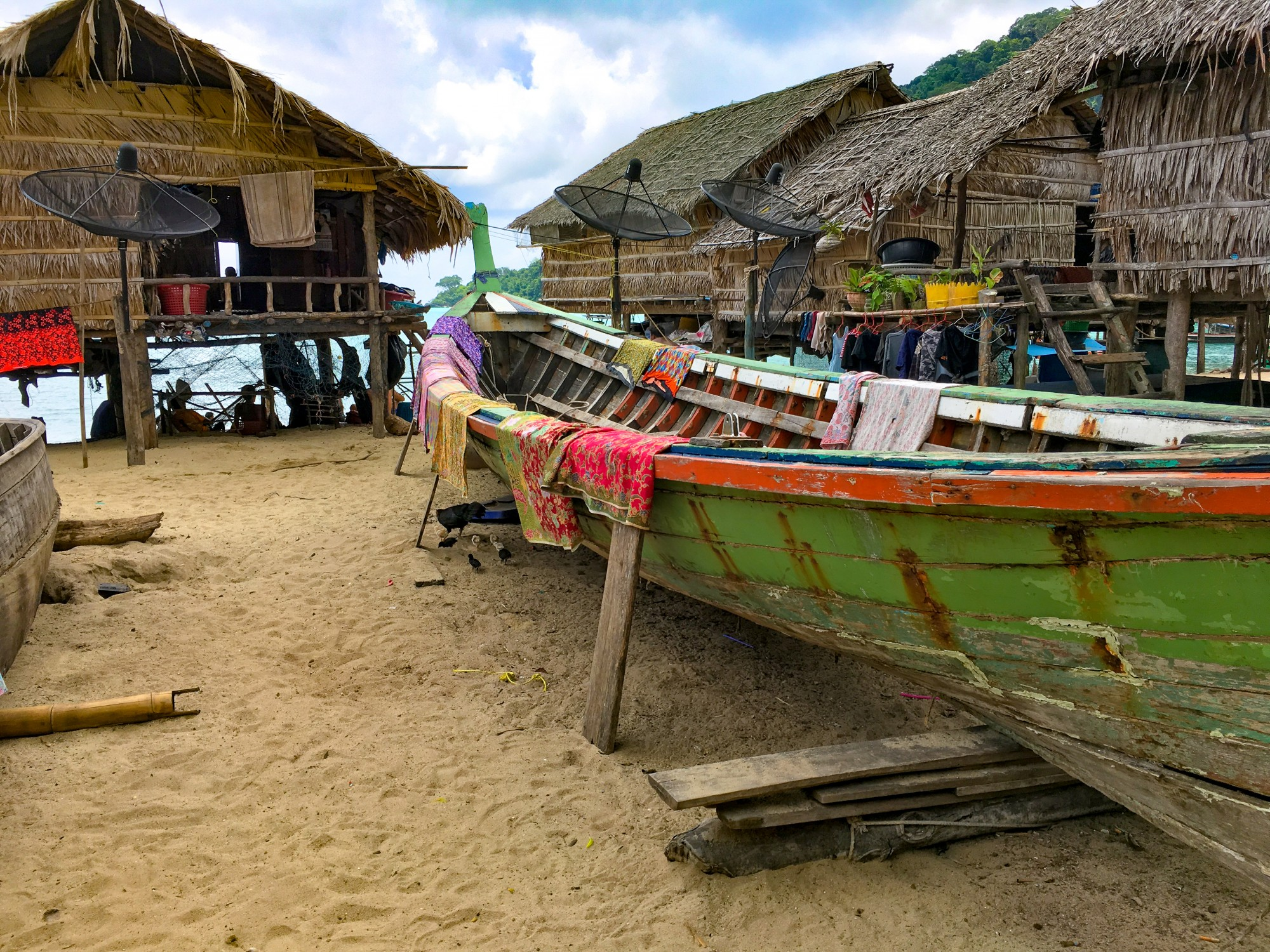 Moken Village Sea Gypsies Thailand
