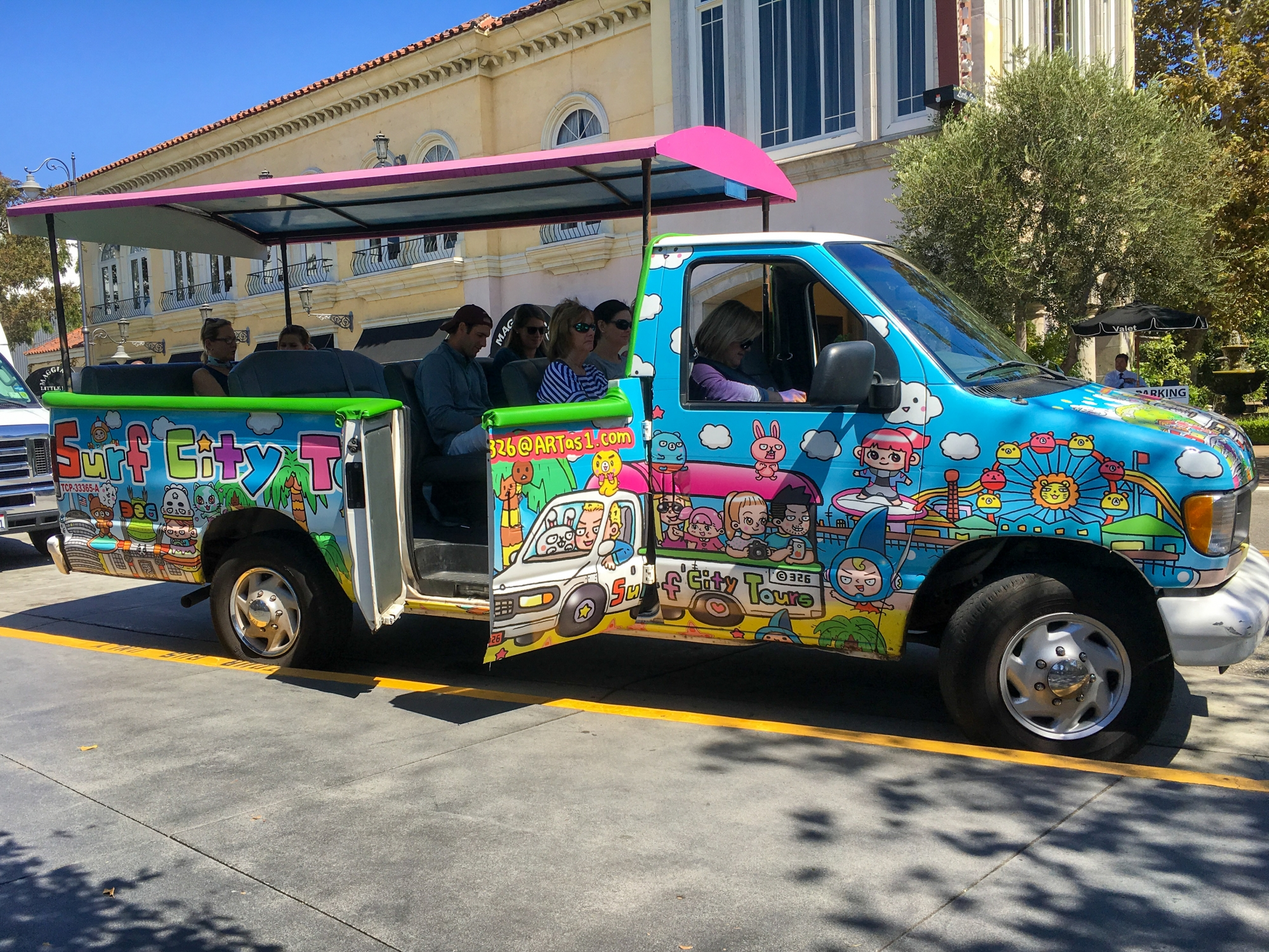 Surf City Bus Tours, Santa Monica