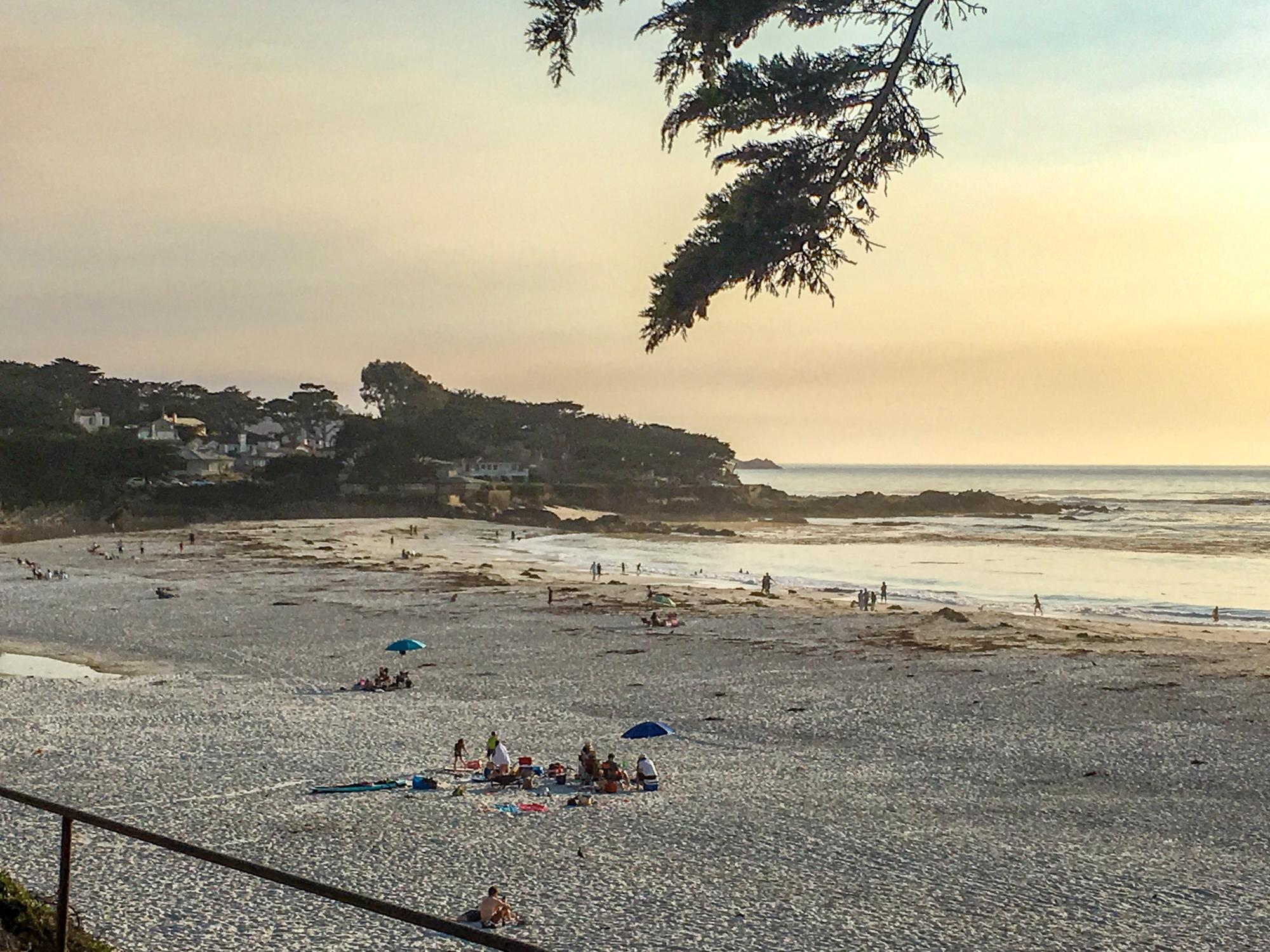 Carmel by the Sea beach