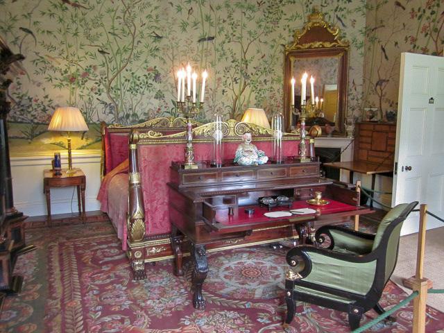 Chatsworth House bedroom