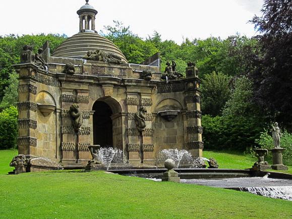Chatsworth House fountain
