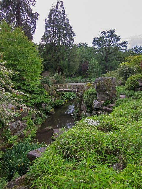 Chatsworth House garden