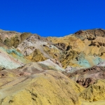 Colour In The Desert At Artist's Palette On Artist's Drive, Death Valley