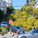 Traversing The Dizzy Heights Of Lombard Street In San Francisco