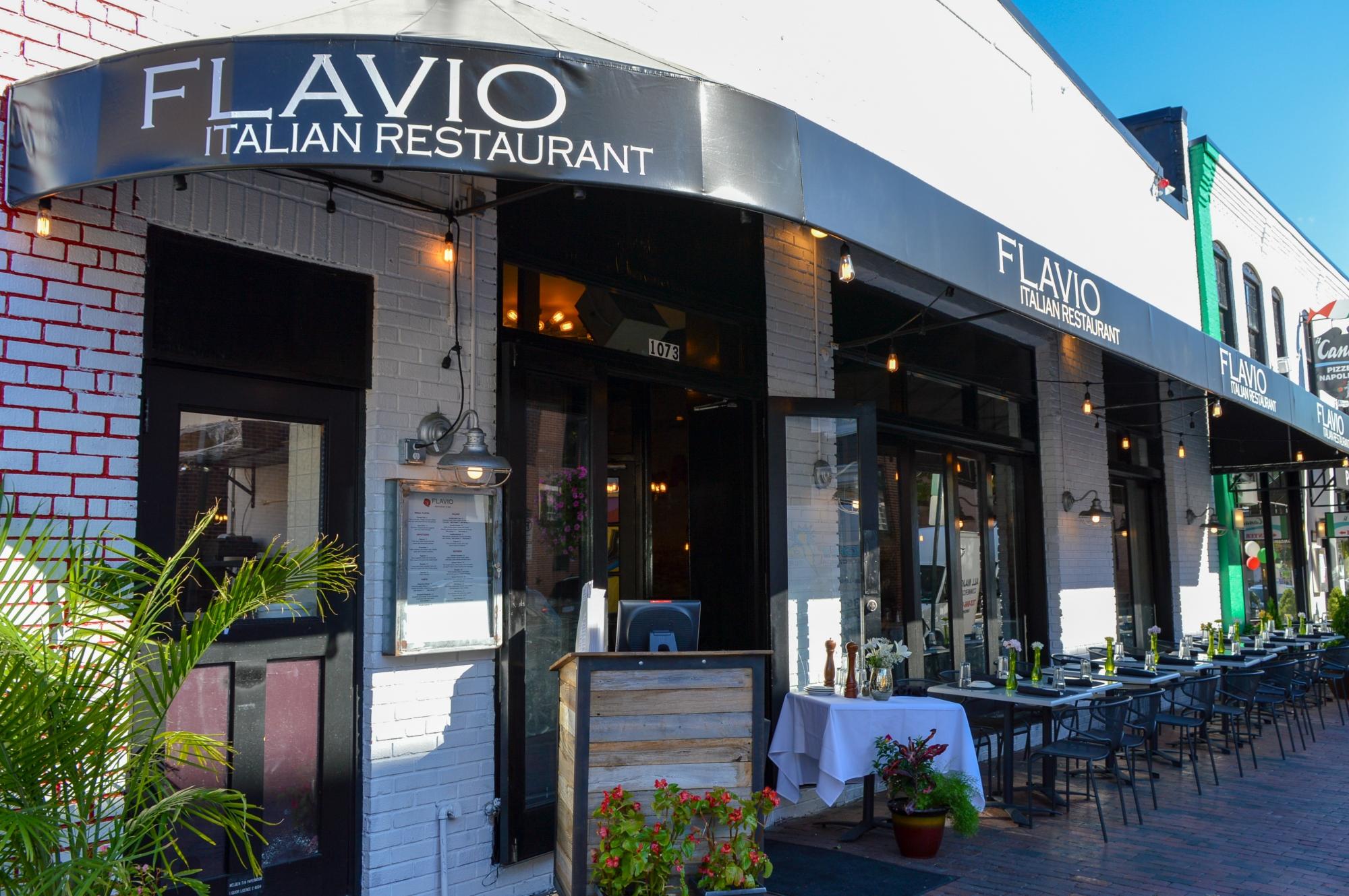 Flavio Italian restaurant, Georgetown, Washington D.C.