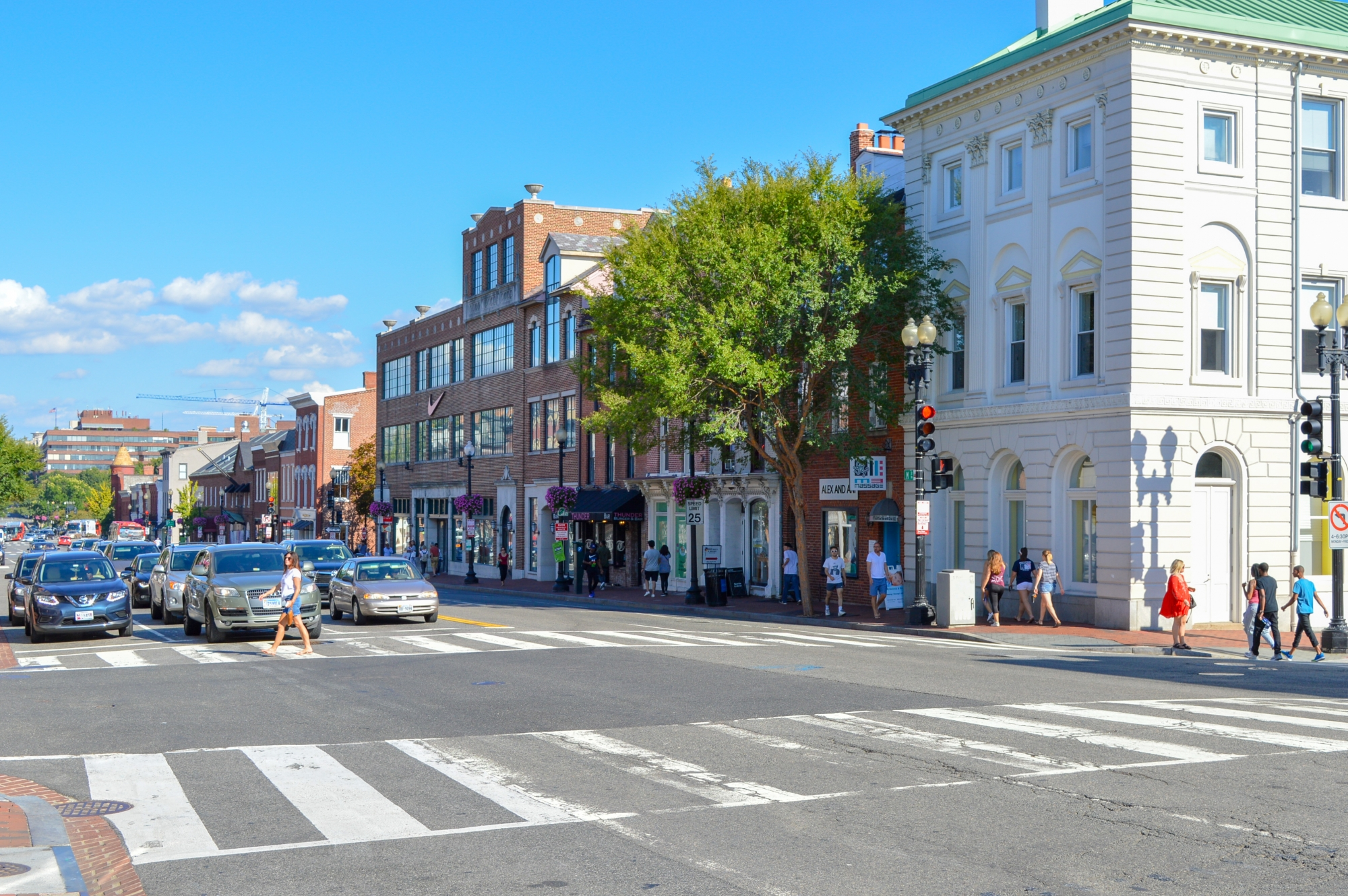 Georgetown Main Street, Washington D.C.