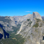 Viewing The Incredible Half Dome In Yosemite National Park