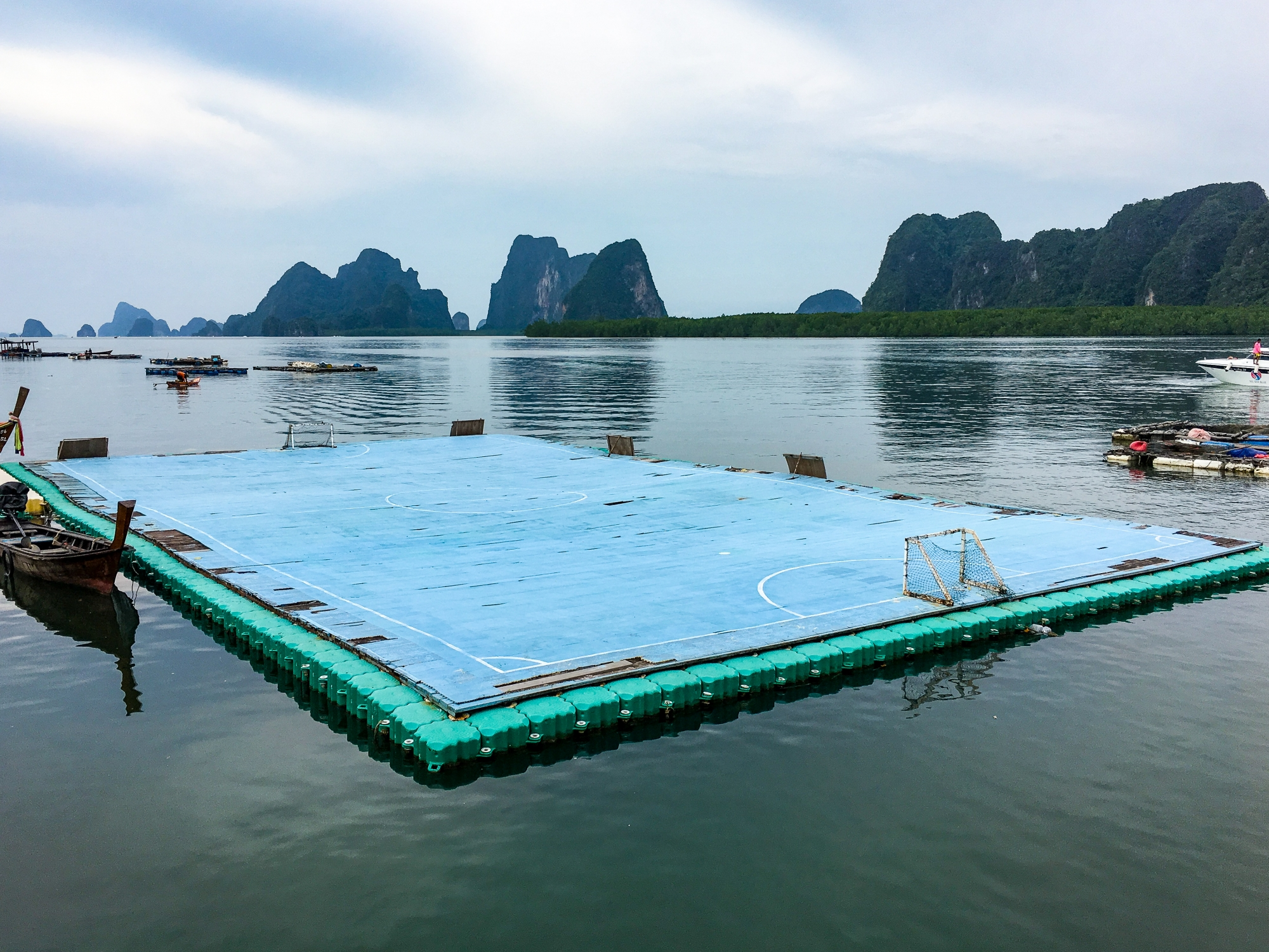 Floating Football Pitch at Panyee Village (Koh Panyee)