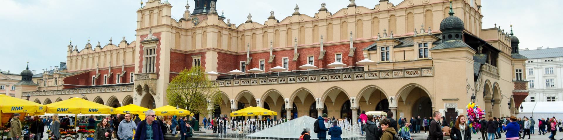 Cloth Hall, Main Square, Krakow