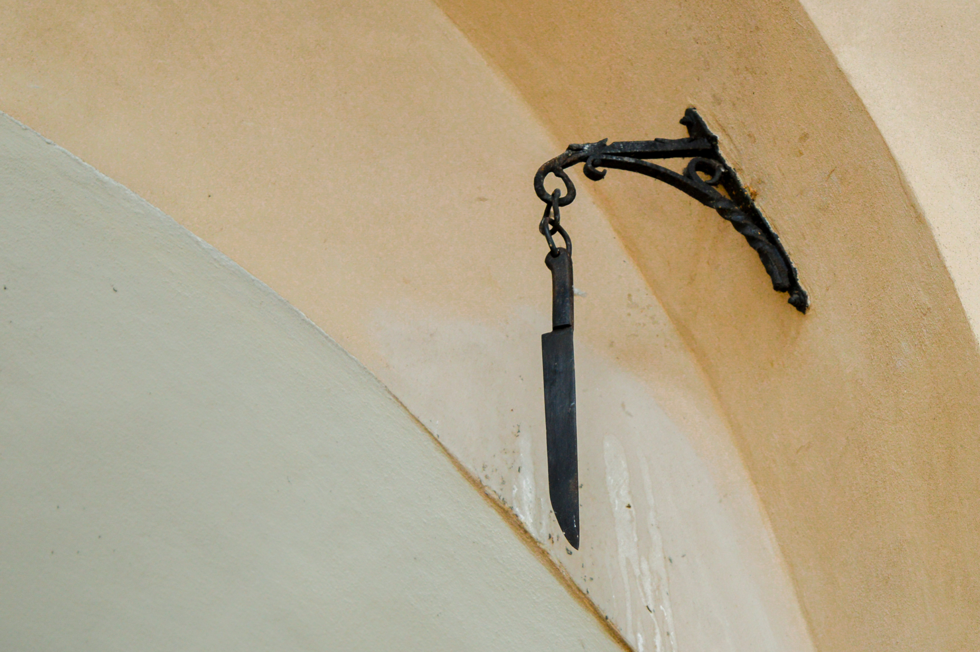 Knife at Cloth Hall, Main Square, Krakow