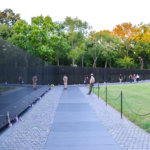 Visiting The Vietnam Veterans Memorial In Washington D.C.