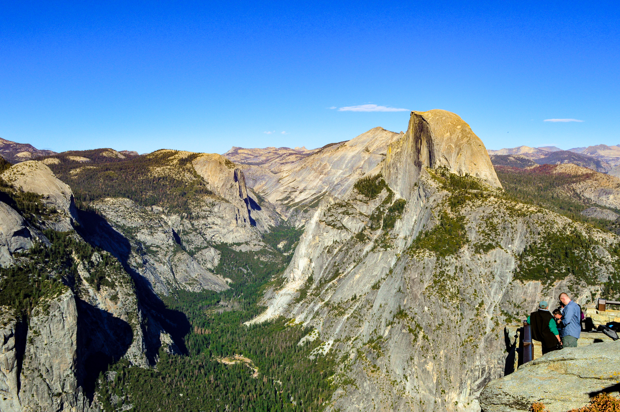 Half Dome From Glacier Point Yosemite National Park
