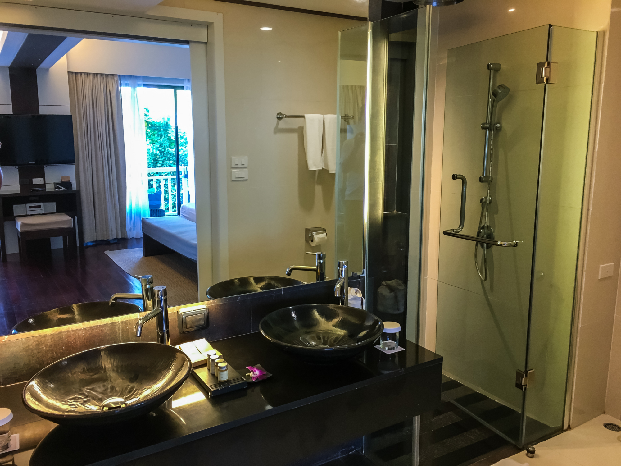 Cape Panwa Hotel Signature Suite Bathroom
