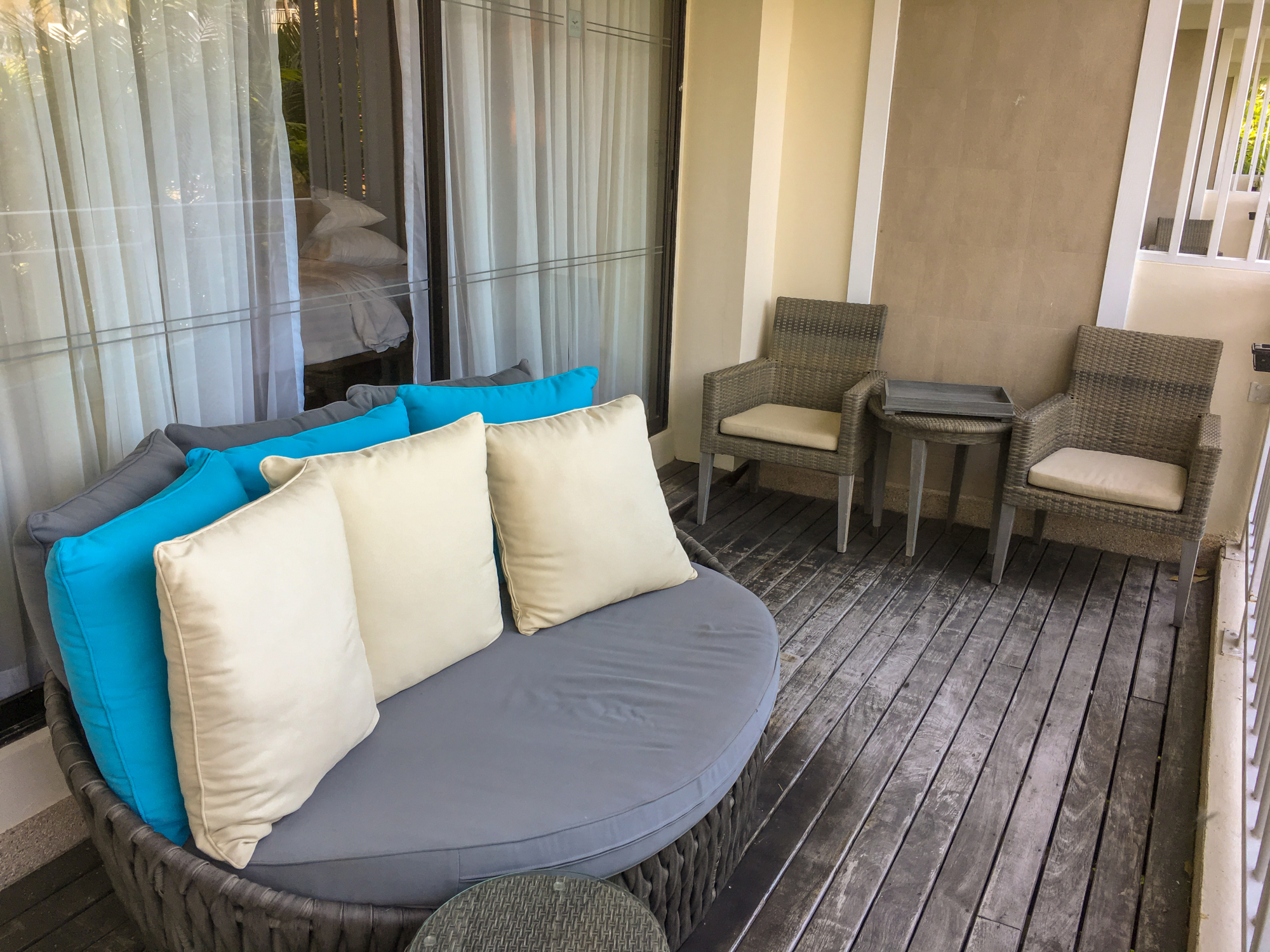 Cape Panwa Hotel Signature Suite Balcony