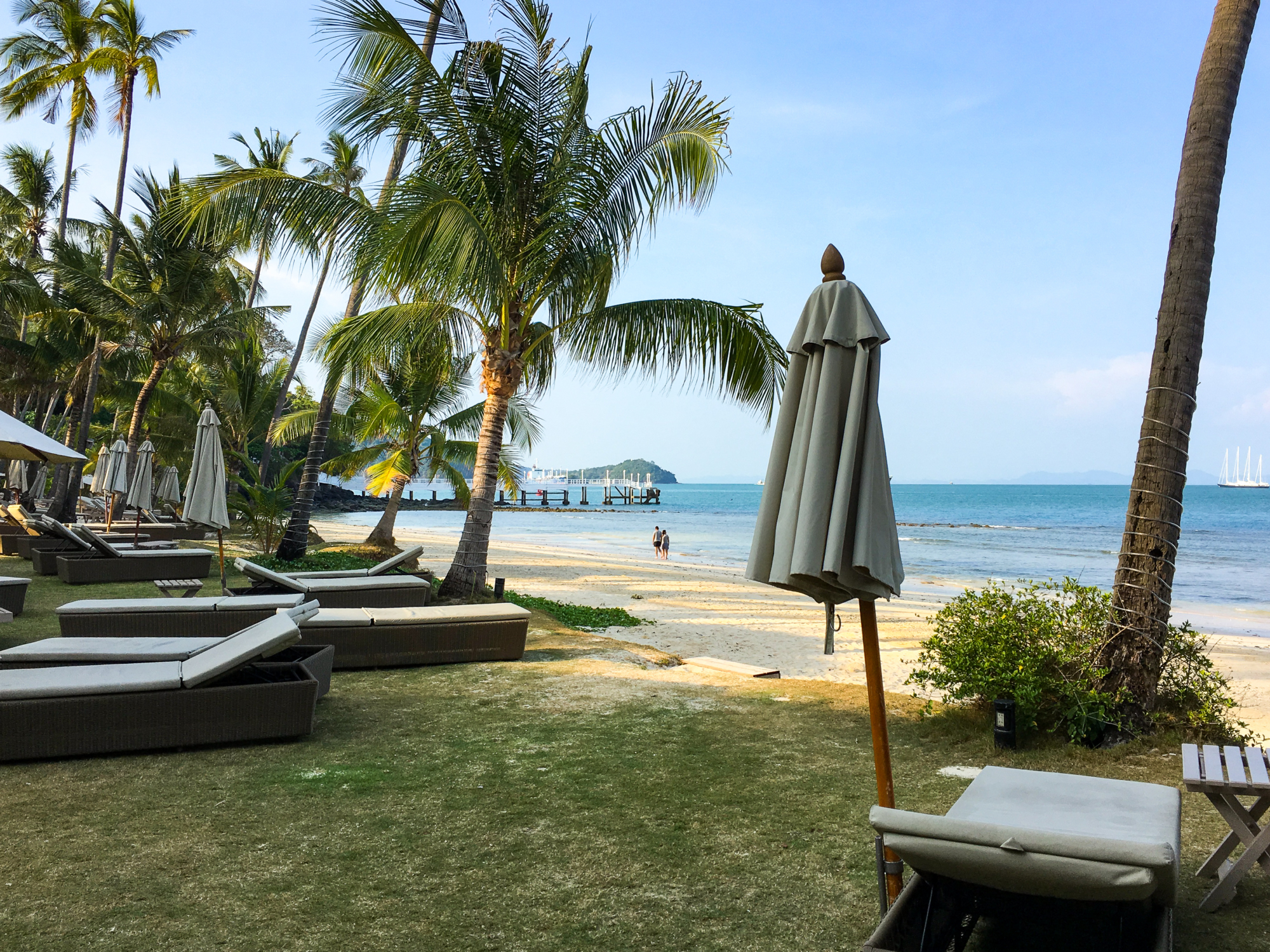 Cape Panwa Hotel Private Beach