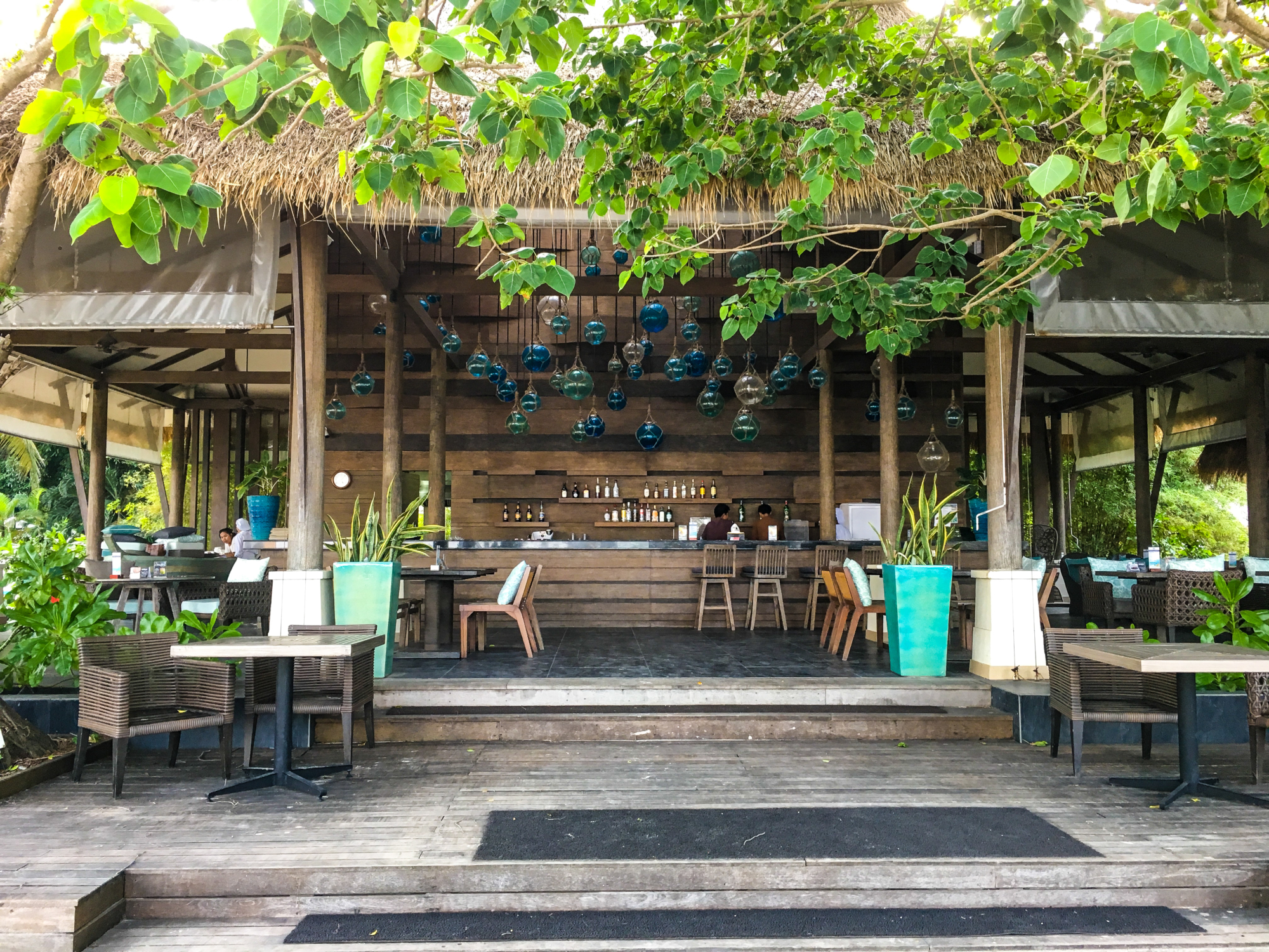 Bamboo Bar at Cape Panwa Hotel, Phuket Thailand