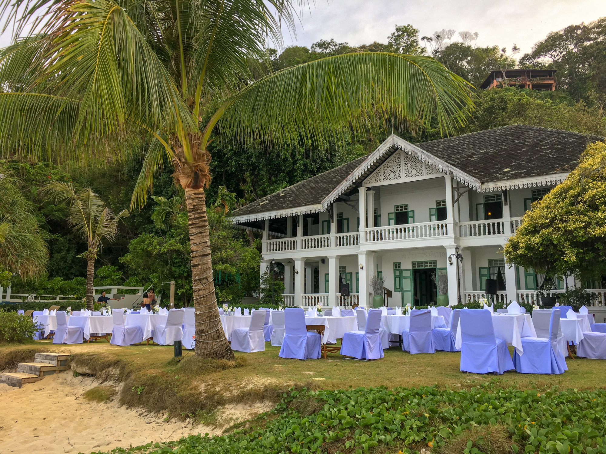 Panwa House at Cape Panwa Hotel, Phuket Thailand