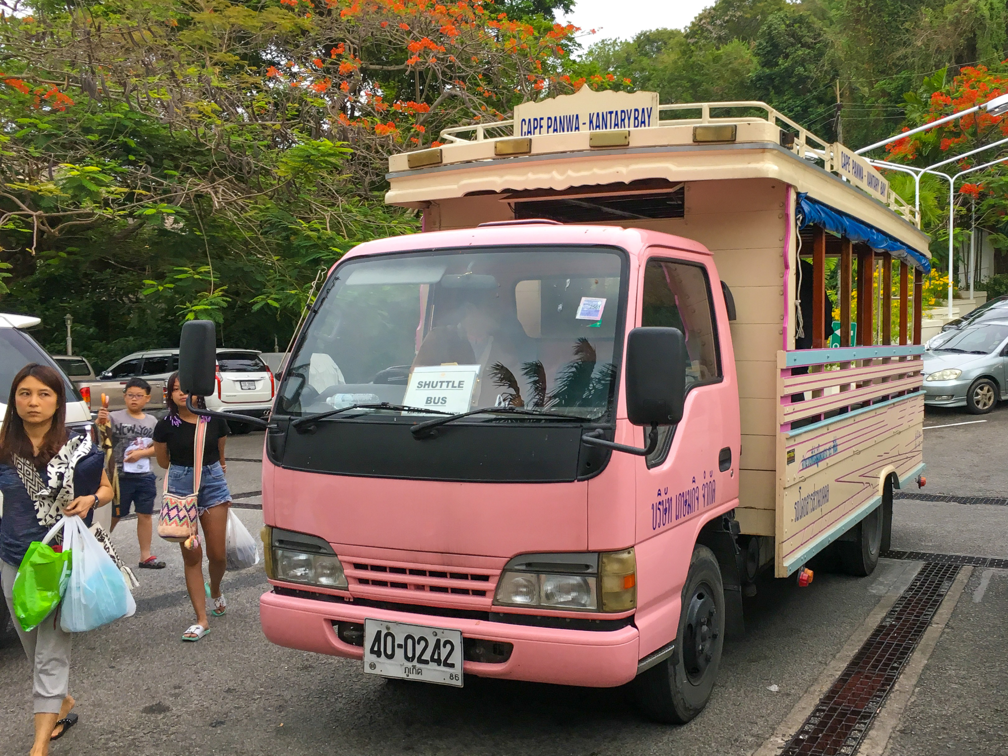 Cape Panwa Hotel to Kantary Bay shuttle bus