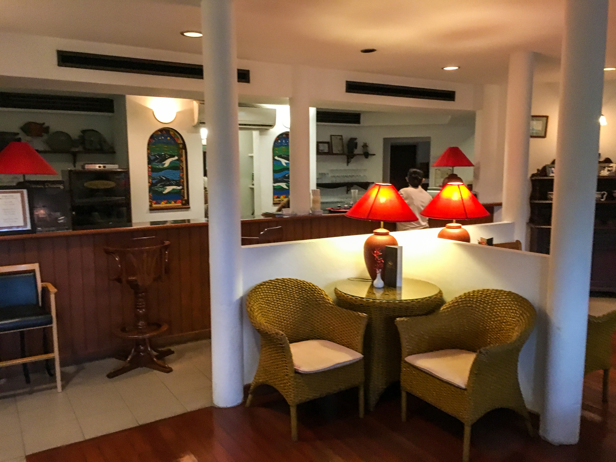 Dophin Bar at Cape Panwa Hotel, Phuket Thailand
