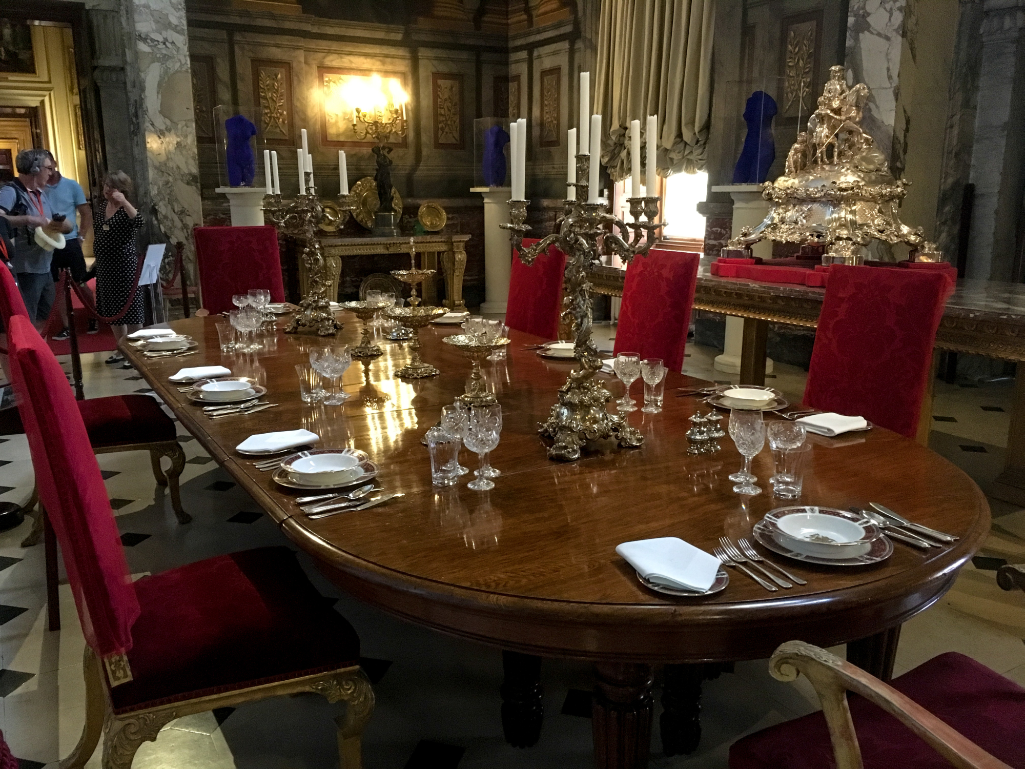 Blenheim Palace State Dining Room