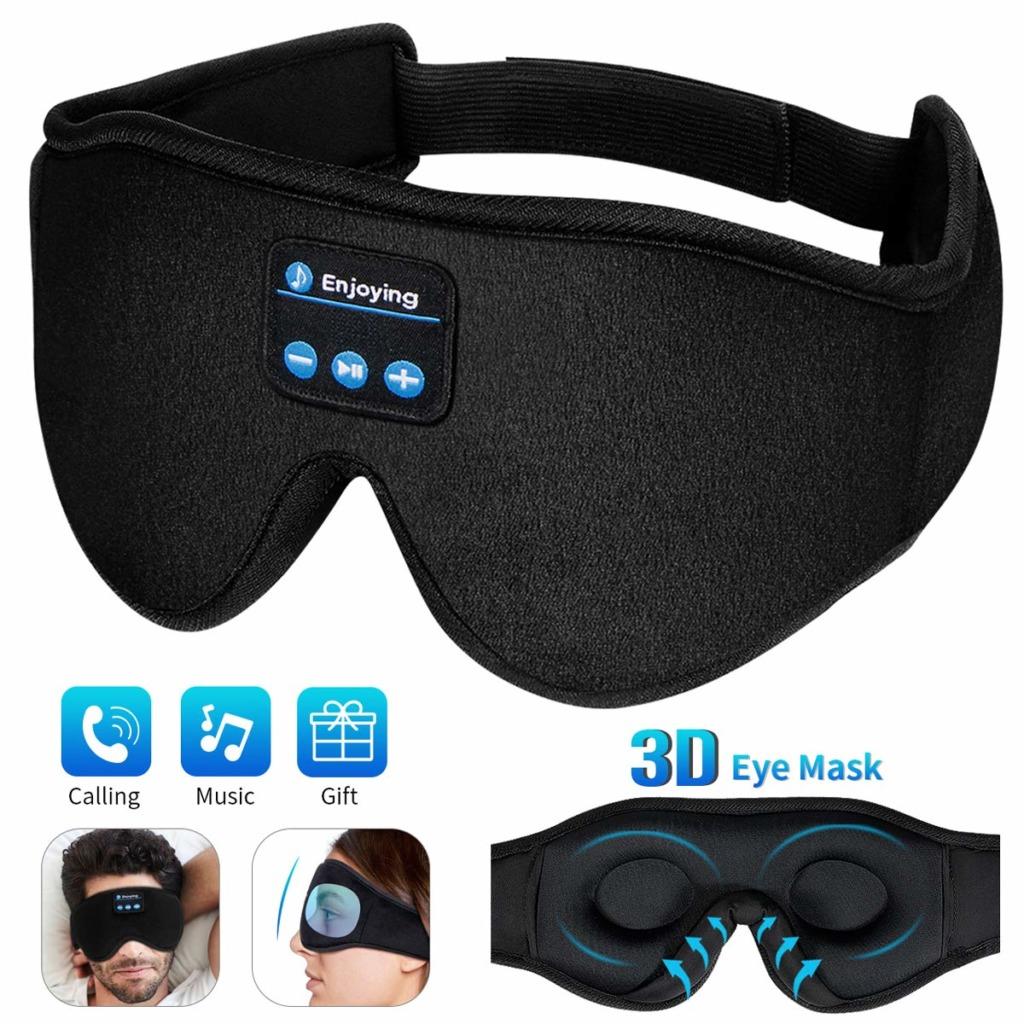 Enjoying 5.0 bluetooth wireless sleep mask