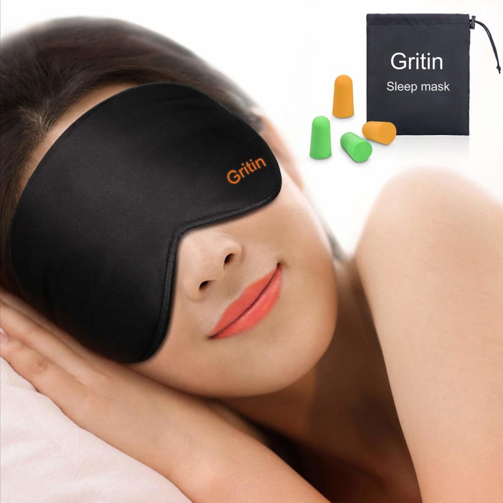 Gritin sleep mask for travel