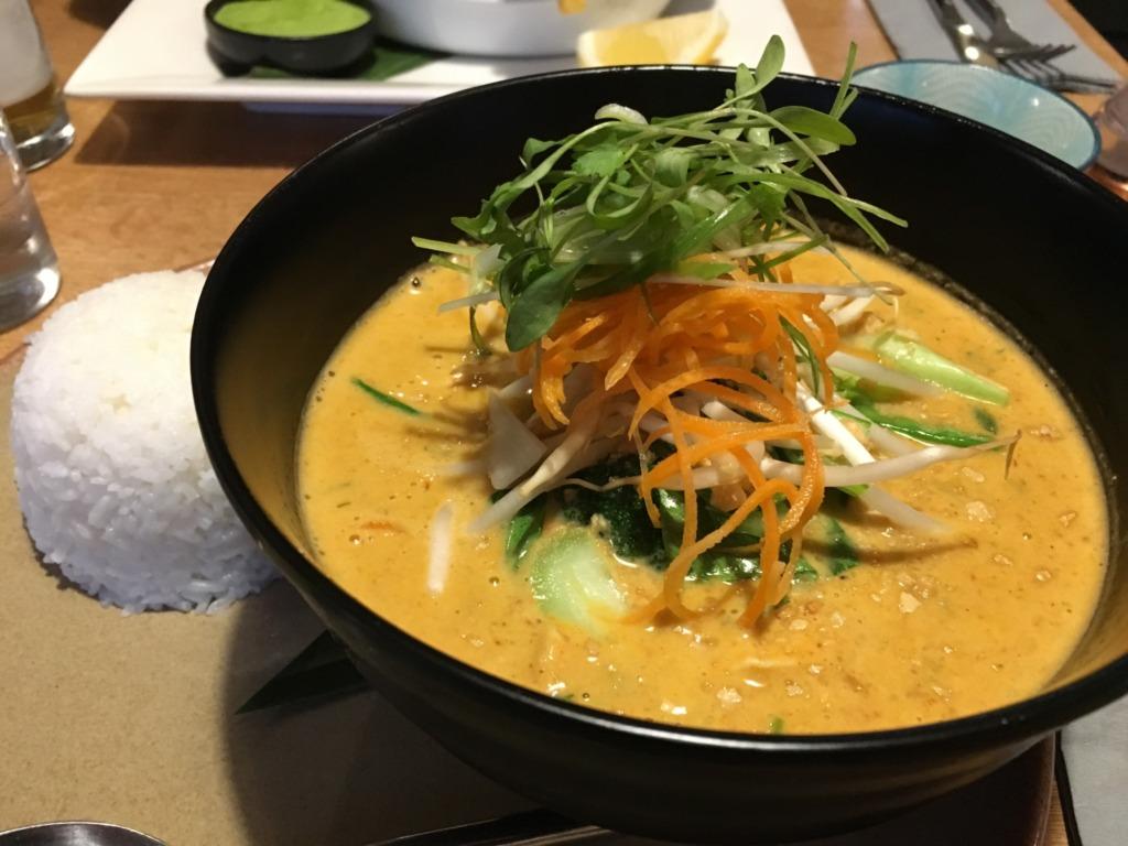 Thai Curry at Kota Kai Porthleven, Cornwall